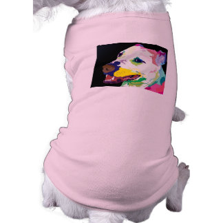 Colorful Pitbull Doggy Sweater - Bully Clothes Sleeveless Dog Shirt