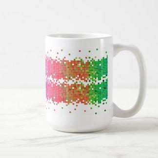 Colorful Pixels Coffee Mug