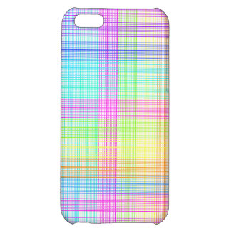 Colorful Plaid Pattern iPhone 5C Cases