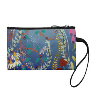 Colorful Plants. Coin Wallets