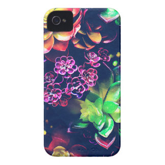 Colorful Plants iPhone 4 Cases