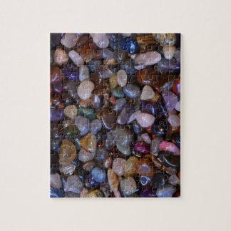 Colorful polished rocks jigsaw puzzle