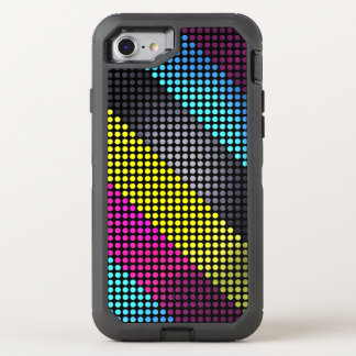 Colorful Polka Dot Pattern OtterBox Defender iPhone 7 Case