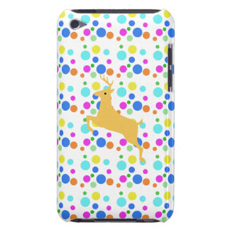 colorful polka dots and a deer iPod touch covers