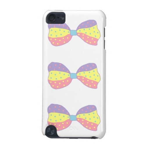 Colorful Polka Dots Bow iPod Touch (5th Generation) Case