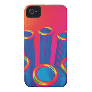 Colorful Pop Art Cylinders iPhone 4 Cover