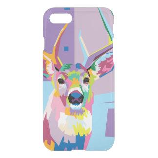 Colorful Pop Art Deer Portrait iPhone 8/7 Case
