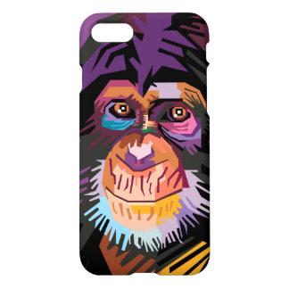Colorful Pop Art Monkey Portrait iPhone 8/7 Case