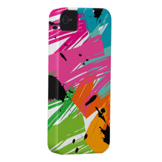Colorful Pop Grunge Funky Art iPhone 4 CaseMate iPhone 4 Cover