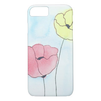 Colorful Poppies iPhone Case