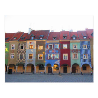 Colorful Poznan Postcard