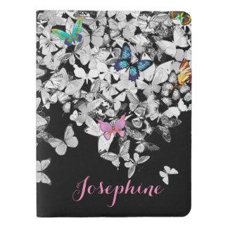 colorful pretty butterflies journal