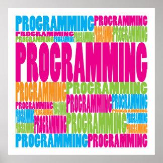Colorful Programming Print