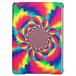 Colorful Psychedelic Fractal Pattern iPad Air Case