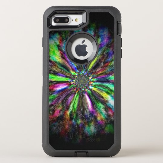 Colorful psychedelic sketch of an eye OtterBox defender