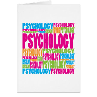 Colorful Psychology Greeting Card