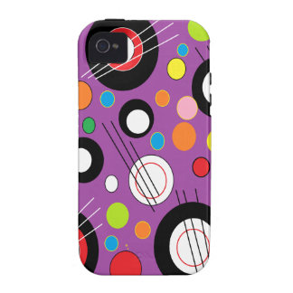 Colorful Purple iPhone 4/4S Covers