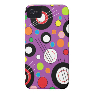 Colorful Purple Case-Mate iPhone 4 Case