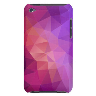 Colorful Purple Fuchsia Geometric Pattern iPod Touch Cases
