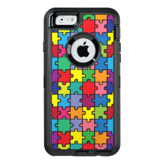 Colorful Puzzle Pattern Autism Awareness ASD OtterBox iPhone 6/6s Case