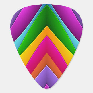 Colorful Pyramid Plectrum
