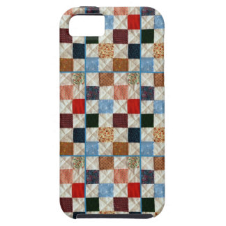Colorful quilt squares pattern case for the iPhone 5