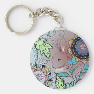 Colorful Rabbit Key Chain