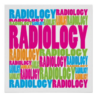 Colorful Radiology Poster