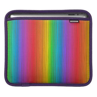 Colorful Rainbow Background iPad Sleeve