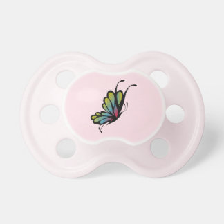 Colorful Rainbow Butterfly Pink Dummy