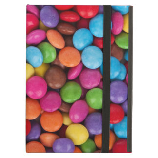 Colorful rainbow candy sweets iPad air case