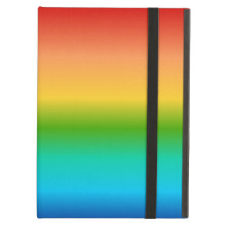 Colorful Rainbow color gradient Cover For iPad Air