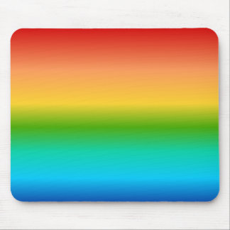 Colorful Rainbow color gradient Mouse Pads