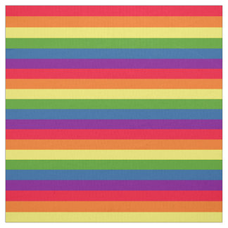 Colorful Rainbow Flag Gay Pride Fabric