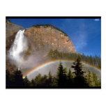 Colorful Rainbow  Nature Mountain Park Destiny Post Card