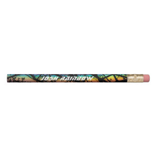 Colorful Rainbow Pencil