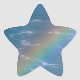Colorful Rainbow Star Sticker