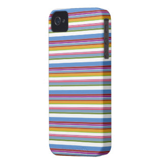 Colorful Rainbow Stripes Case-Mate iPhone 4 Case