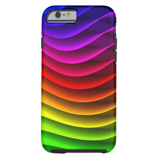 Colorful Rainbow Tough iPhone 6 Case