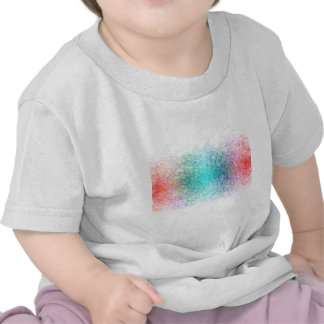 Colorful random lines and shapes t shirt
