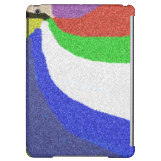 Colorful random pattern iPad air cover