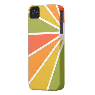 Colorful Rays Blackberry Bold case, customizable iPhone 4 Case