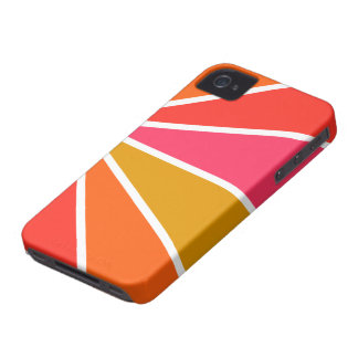 Colorful Rays Blackberry Bold case, customizable iPhone 4 Case-Mate Case