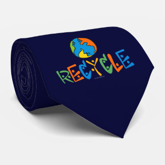 Colorful Recycling Tie