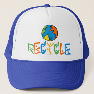 Colorful Recycling Trucker Hat