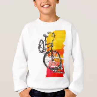 Colorful Red Bike Sweatshirt