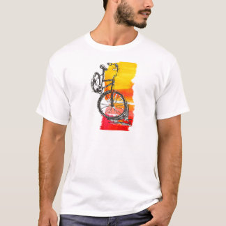 Colorful Red Bike T-Shirt
