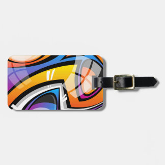 Colorful Reflection Luggage Tag
