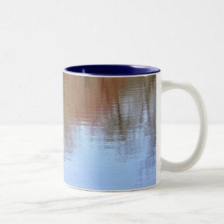 Colorful Reflections Two-Tone Coffee Mug