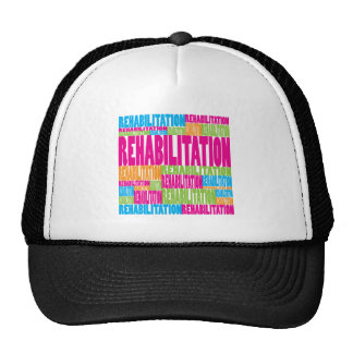 Colorful Rehabilitation Mesh Hat
